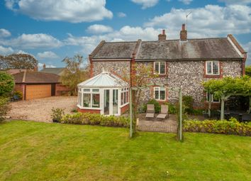 Thumbnail 4 bed detached house for sale in Wroxham Road, Sprowston, Norwich