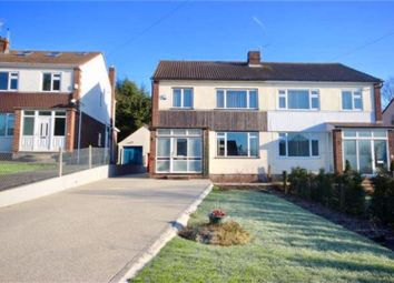 Thumbnail 3 bed semi-detached house for sale in Grove Avenue, Coombe Dingle, Bristol