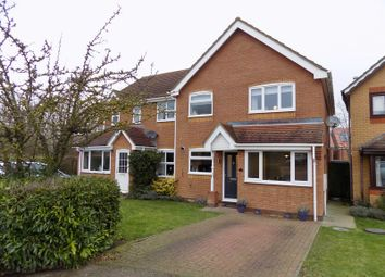 Thumbnail 3 bedroom semi-detached house for sale in Owen Drive, Royston, Hertfordshire