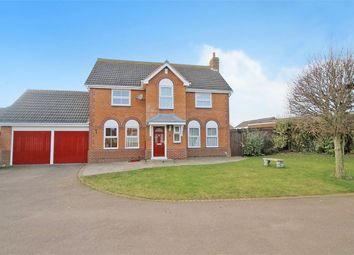 Thumbnail 4 bed detached house for sale in The Ashway, Brixworth, Northampton