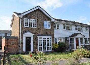 Thumbnail 3 bed end terrace house for sale in Warlingham Close, Rainham, Gillingham
