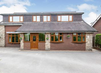 Thumbnail 4 bed detached house for sale in Lockwood Close, Kingsley Holt, Stoke-On-Trent