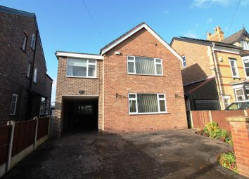 Thumbnail 5 bed detached house for sale in Queens Road, Urmston, Manchester