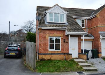 Thumbnail 3 bed semi-detached house to rent in Cannon Close, Rawmarsh. Rotherham