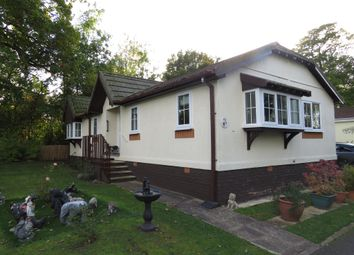 Thumbnail 2 bed mobile/park home for sale in Shepherds Grove Park, Stanton, Bury St. Edmunds
