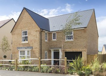 "Thumbnail 4 bed detached house for sale in ""Drummond"" at Warkton Lane, Barton Seagrave, Kettering"
