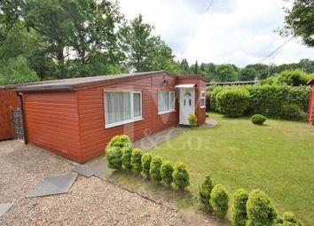 Thumbnail 2 bedroom mobile/park home for sale in Lye Lane, Bricket Wood, St. Albans
