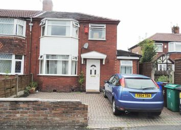 Thumbnail 3 bedroom semi-detached house for sale in Hinstock Crescent, Gorton, Manchester, Manchester