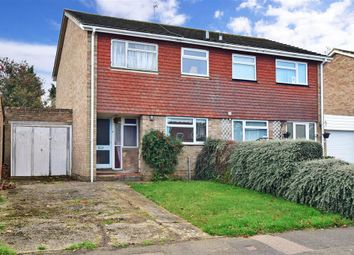 Thumbnail 3 bed semi-detached house for sale in Pembroke Road, Coxheath, Maidstone, Kent
