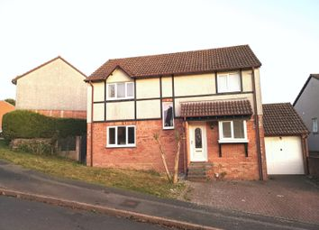 Thumbnail 4 bed detached house for sale in Warren Park, Woolwell, Plymouth