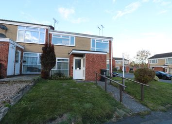 Thumbnail 2 bed flat for sale in Denis Close, Leicester