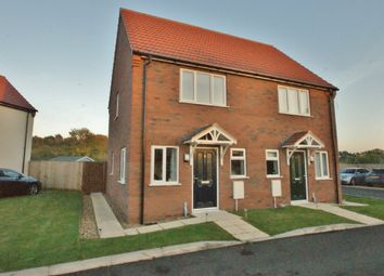Thumbnail 2 bedroom semi-detached house for sale in Chequers Meadow, Hainford, Norwich