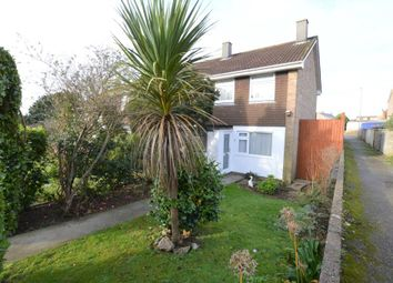Thumbnail 2 bedroom end terrace house to rent in Polwheal Road, Tolvaddon, Camborne, Cornwall