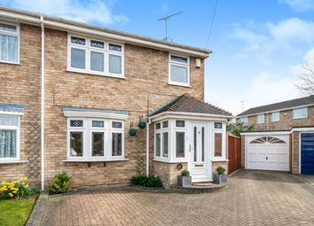 Thumbnail 3 bed semi-detached house for sale in Moor Park Close, Rainham, Gillingham