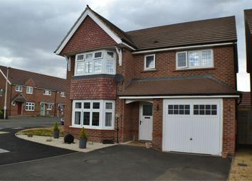 Thumbnail 4 bed detached house for sale in Corrib Road, Nuneaton