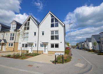 Thumbnail 2 bed semi-detached house for sale in Eton Walk, Folkestone