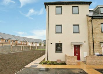 Thumbnail 3 bed end terrace house for sale in Chieftain Way, Cambridge