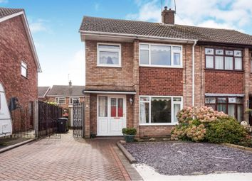 Thumbnail 3 bed semi-detached house for sale in Gordon Close, Bedworth