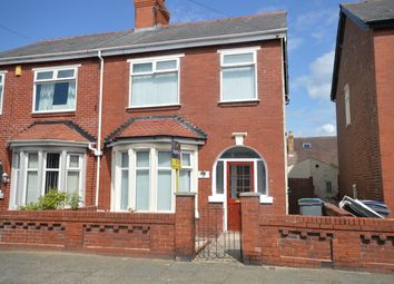 Thumbnail 3 bed semi-detached house to rent in Garton Avenue, Blackpool