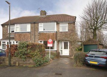 Thumbnail 3 bed semi-detached house for sale in Stubley Close, Dronfield Woodhouse, Dronfield, Derbyshire