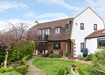 Thumbnail 4 bedroom detached house for sale in Cranleigh Avenue, Rottingdean, Brighton, East Sussex