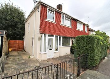 Thumbnail 3 bed semi-detached house for sale in Bracondale Road, Abbeywood