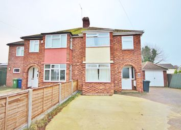 Thumbnail 4 bed semi-detached house to rent in Elfleda Road, Cambridge