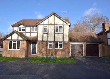 Thumbnail 4 bed detached house for sale in Howard Drive, Farnborough