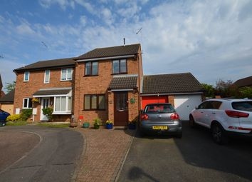 Thumbnail 3 bedroom semi-detached house for sale in Brashland Drive, Wootton, Northampton