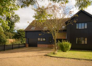 Thumbnail 4 bedroom barn conversion for sale in The Street, Hepworth, Diss