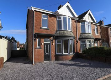 Thumbnail 3 bed semi-detached house for sale in Condor Grove, Blackpool