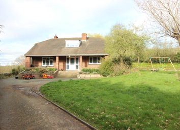 Thumbnail 5 bed bungalow for sale in Buttington, Welshpool, Powys