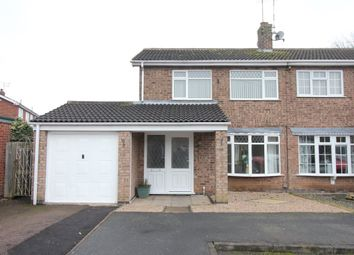 Thumbnail 3 bed property to rent in Rannoch Close, Hinckley