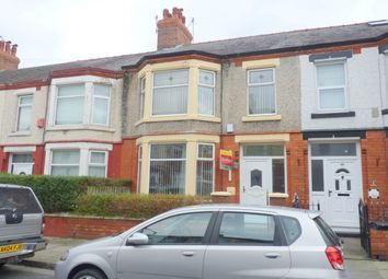 Thumbnail 3 bed terraced house to rent in Primrose Road, Birkenhead