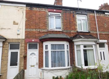 Thumbnail 2 bed terraced house for sale in Woodbine Villas, Hull