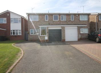 Thumbnail 3 bed semi-detached house for sale in Stonebury Avenue, Coventry