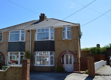 Thumbnail 3 bed semi-detached house to rent in Elwick Gardens, Plymouth
