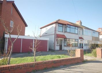 Thumbnail 3 bed semi-detached house to rent in Luton Road, Thornton-Cleveleys