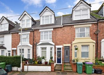 Thumbnail 4 bed terraced house for sale in Garden Road, Folkestone, Kent
