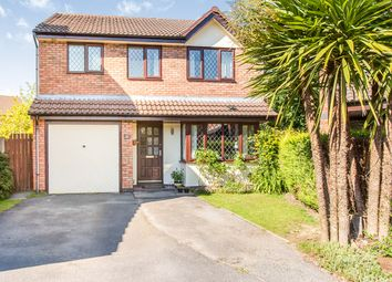 Thumbnail 4 bed detached house for sale in Guernsey Close, Congleton, Cheshire