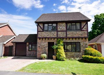 Thumbnail 4 bed detached house for sale in Nightingale Close, Rowland's Castle, Hampshire