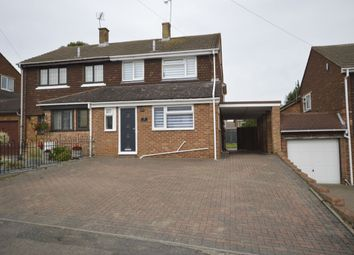 3 bed semi-detached house for sale in Rochester Crescent, Hoo, Rochester ME3