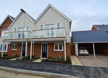 Thumbnail 3 bed semi-detached house to rent in Poynder Drive, Snodland