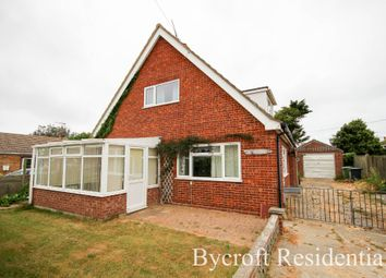Thumbnail 3 bed detached house for sale in Fakes Road, Hemsby, Great Yarmouth