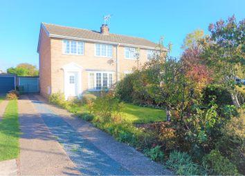 Thumbnail 3 bed semi-detached house for sale in Laburnum Avenue, Hutton Cranswick