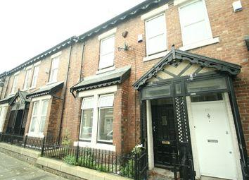 Thumbnail 4 bedroom terraced house to rent in Croydon Road, Fenham, Newcastle Upon Tyne