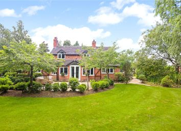 Thumbnail Detached house for sale in Winsford Road, Wettenhall, Winsford, Cheshire
