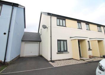 Thumbnail 3 bedroom semi-detached house for sale in Westleigh Way, Saltram Meadow, Plymstock
