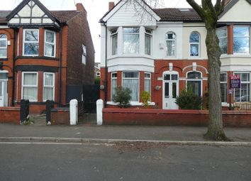 Thumbnail 3 bed semi-detached house for sale in Auburn Road, Old Trafford, Manchester.