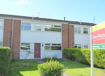 Thumbnail 3 bed terraced house to rent in Millersdale Close, Eastham, Wirral
